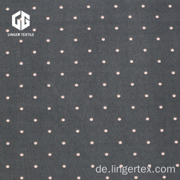 Speckle Polyester Spandex Penetration Bedrucktes Single Jersey